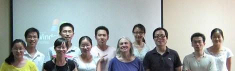 Phd students NAU, 2010